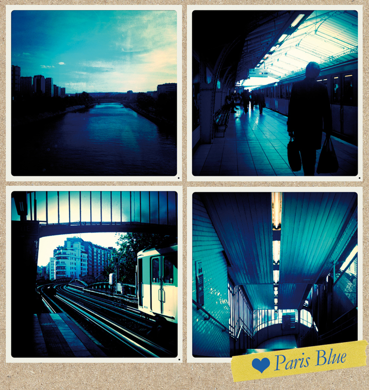 Paris Blue