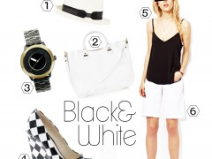 Black & White shopping