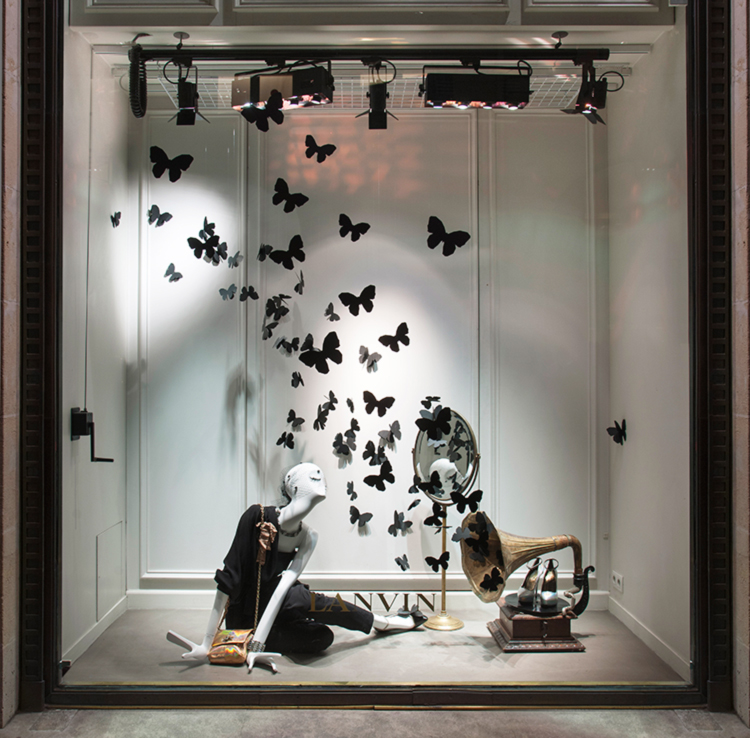lanvin and butterflies