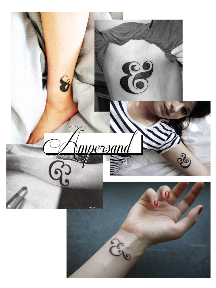 Tattoo ideas #1 – Ampersand