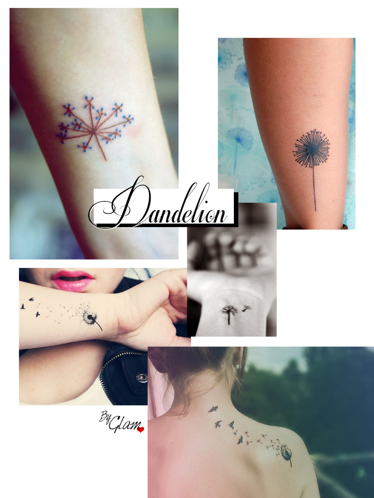 Tattoo ideas #3 – Dandelion