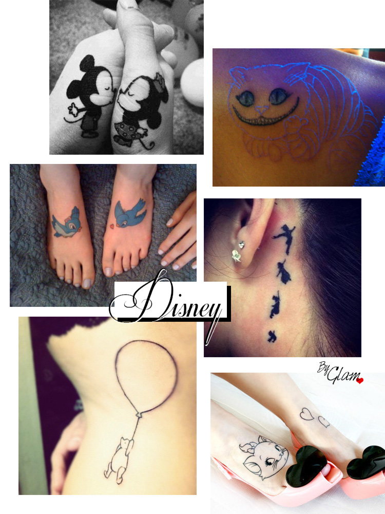 Tattoo ideas #4 – Disney