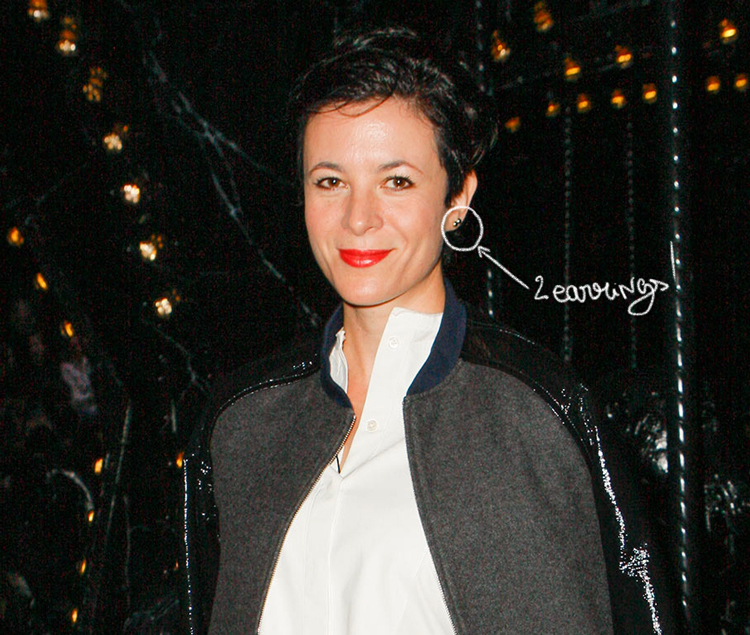 Trend Alert : 2 earrings on Garance Doré