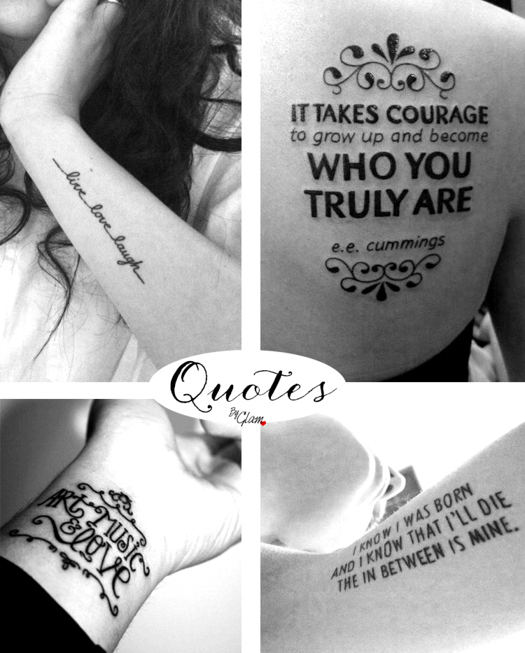 Tattoo ideas #18 – Quote