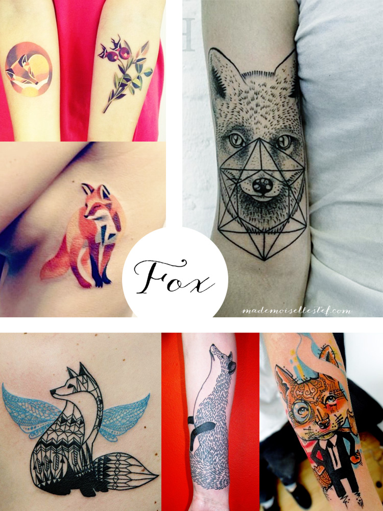 Tattoo ideas #20 – Fox