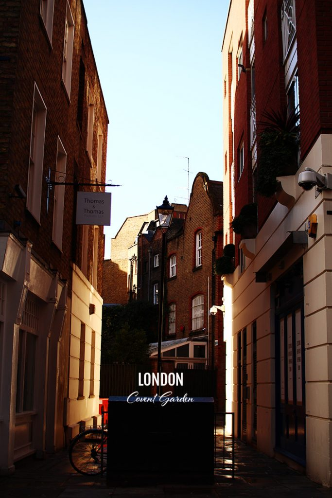 Londres – Covent Garden