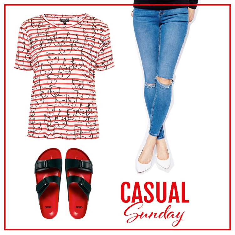 Shopping-Casual sunday