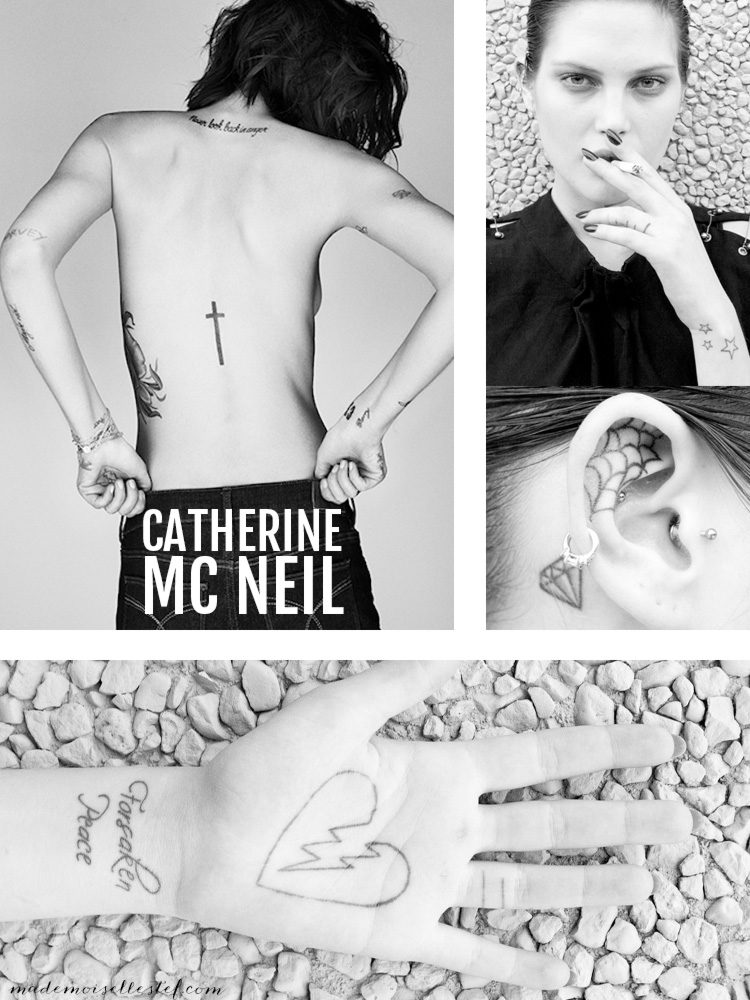 Tattoo ideas #21 – Catherine Mc Neil