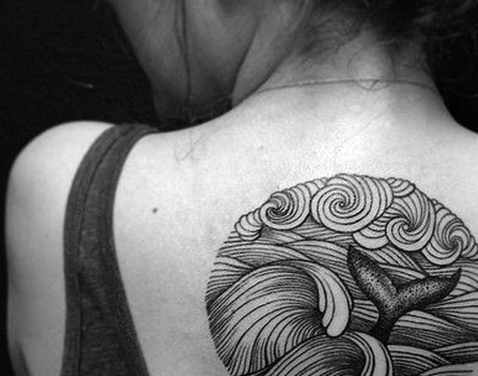 Tattoo Ideas #25 – Whales – Baleines