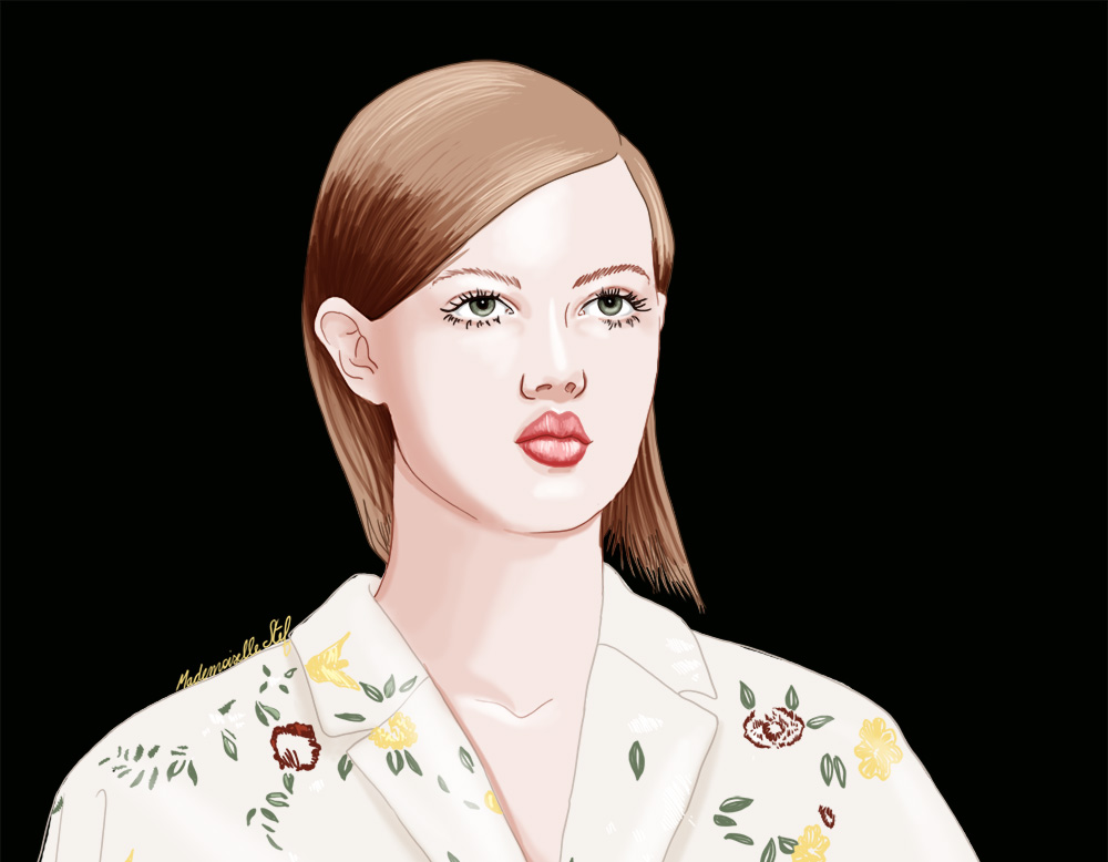 Illustration Rochas : Close up