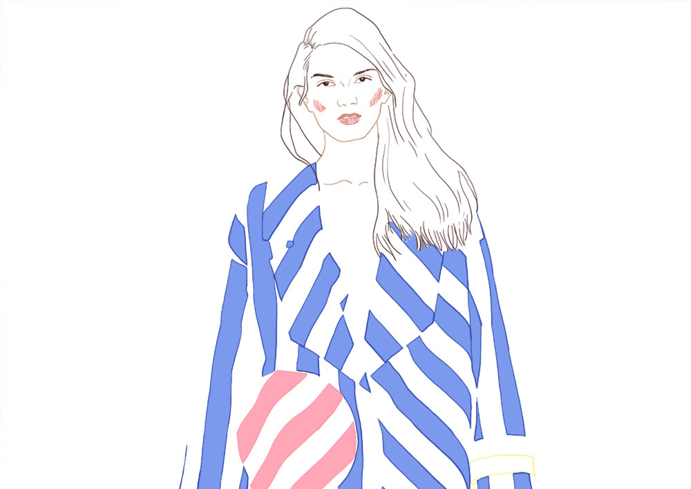 illustration jacquemus
