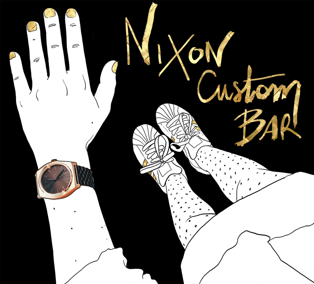 Le custom bar NIXON à Paris