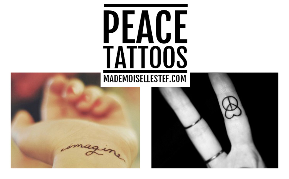 Tattoo Ideas #34 – Peace