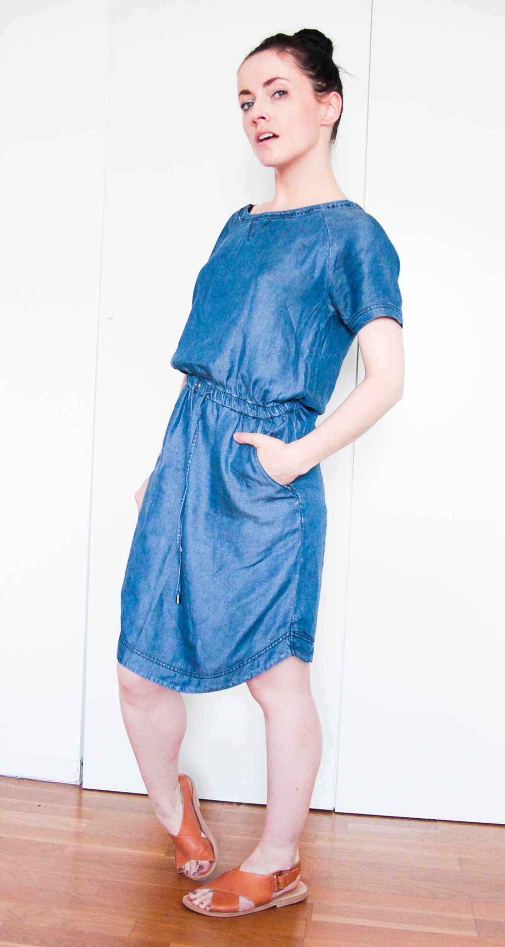 robe denim primark
