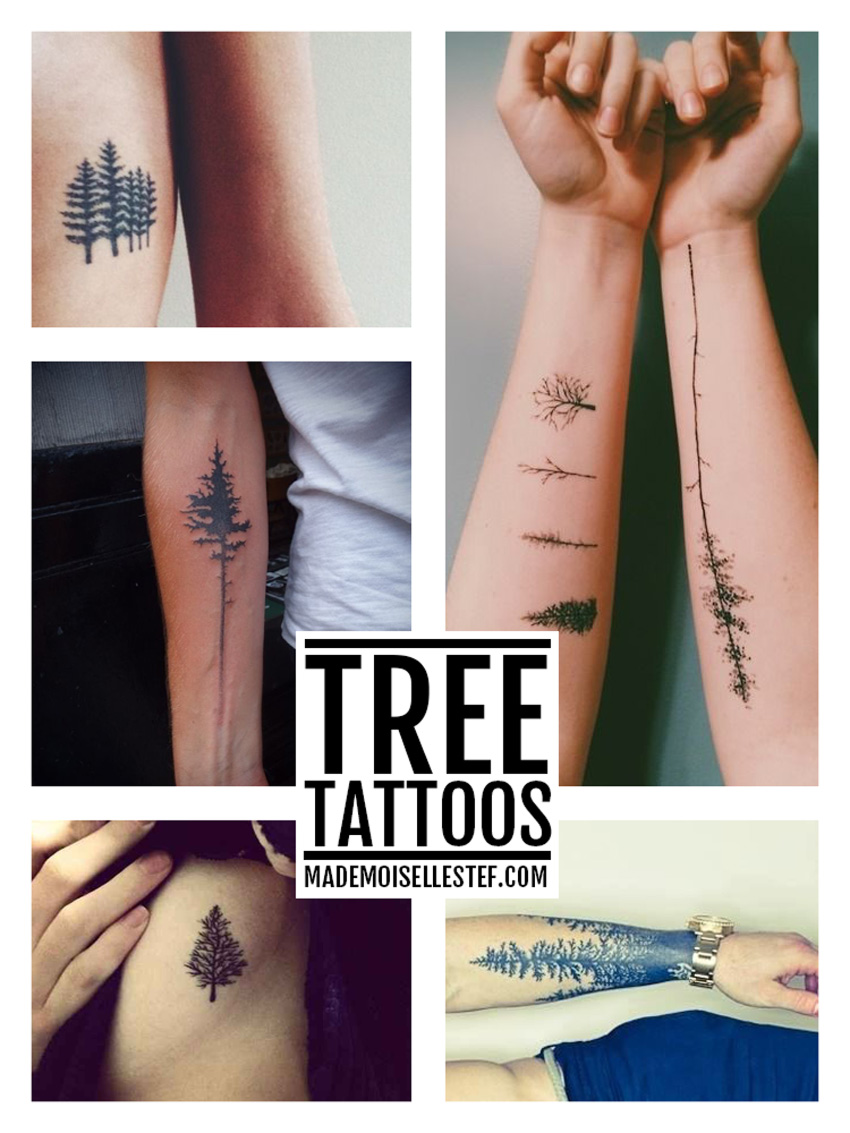 tattoo idea tree ink