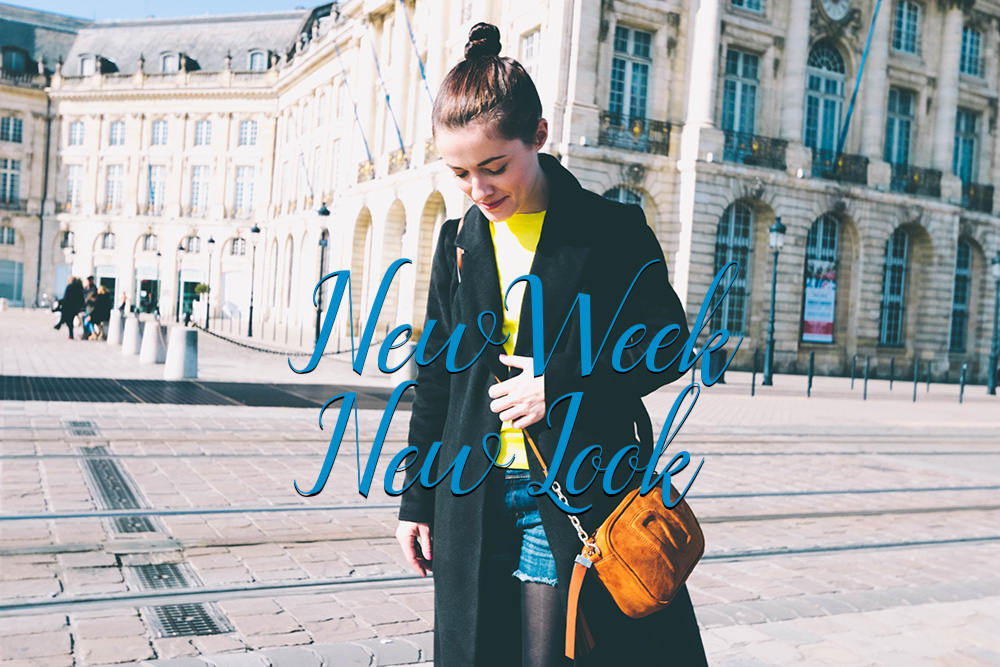 New Week, New Look : Pull jaune à Bordeaux