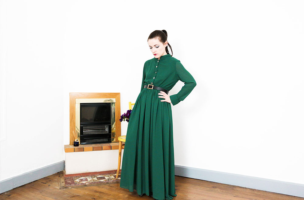 blog mode robe verte