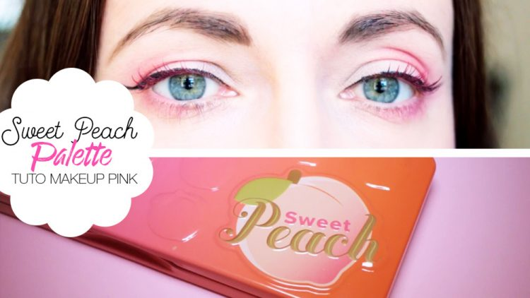 Tuto makeup too faced sweet peach palette - Maquillage photo gratuit ...