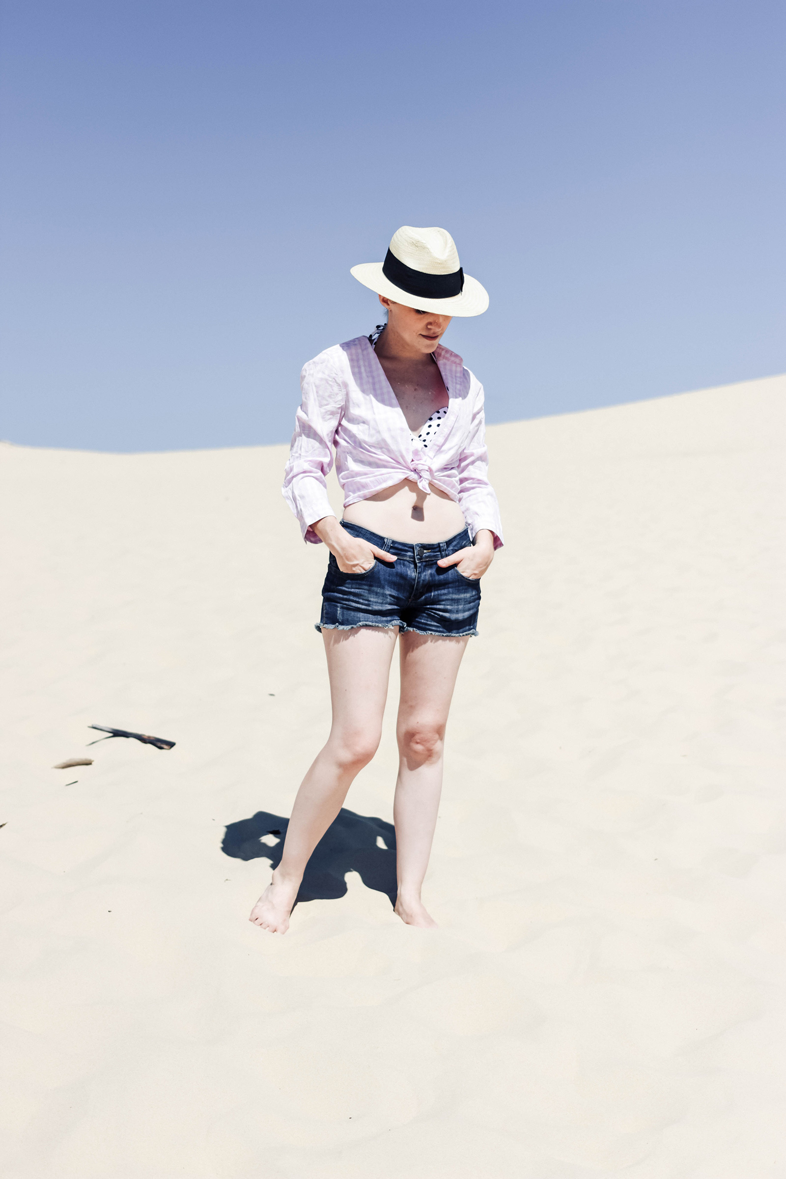 quel look à la plage blog mode