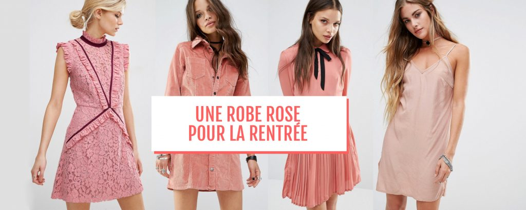 selection shopping robe rose