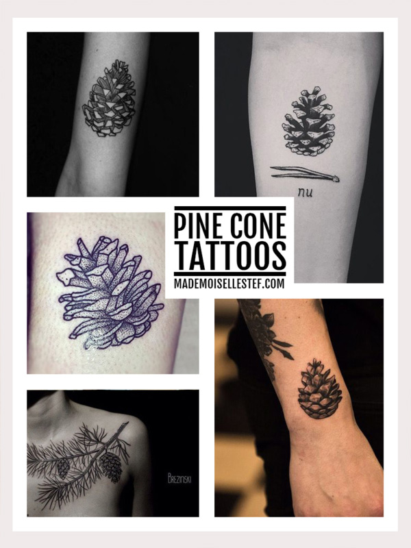 Tattoo Ideas #49 – Pine Cone