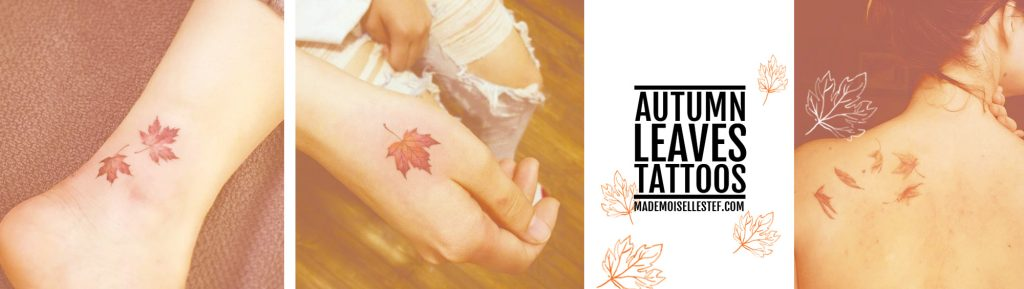 Tattoo Ideas #48 – Autumn Leaves