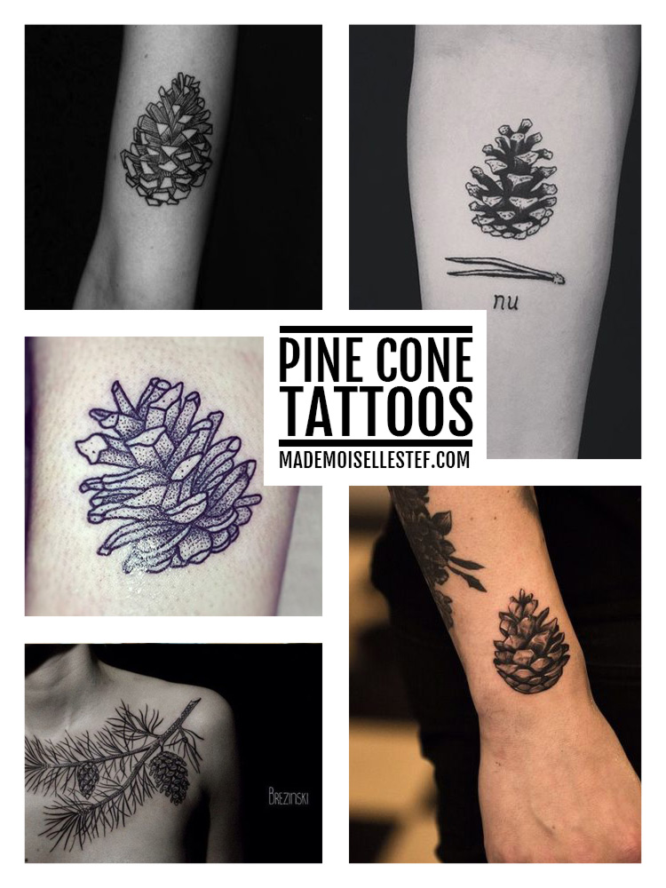tattoo ideas pine cone