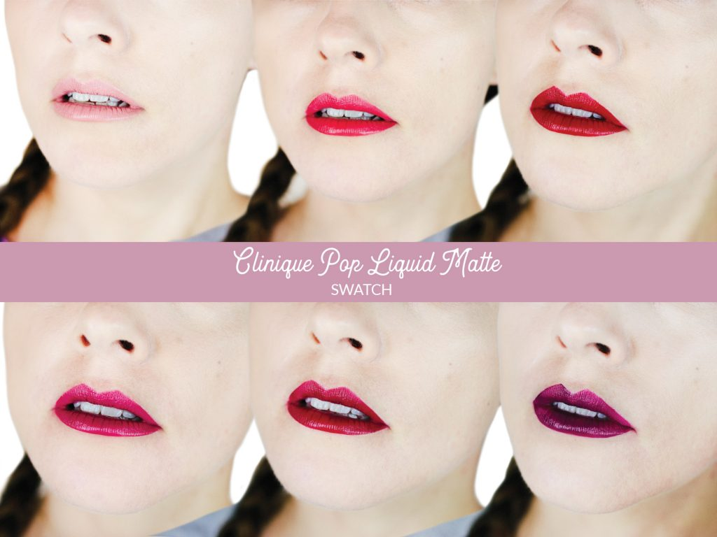 Clinique Pop Liquid Matte : Swatch et avis
