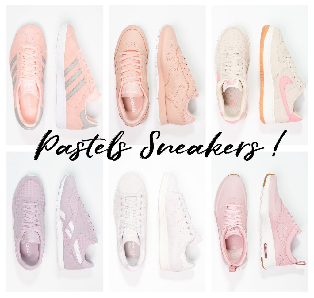 Shopping : Pastel Sneakers