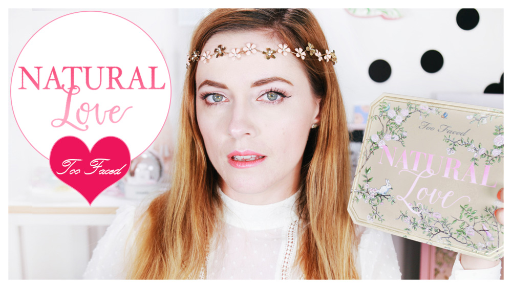 { Tutoriel Maquillage n° 20 } Palette Natural Love de Too Faced pour un makeup de Mariage !