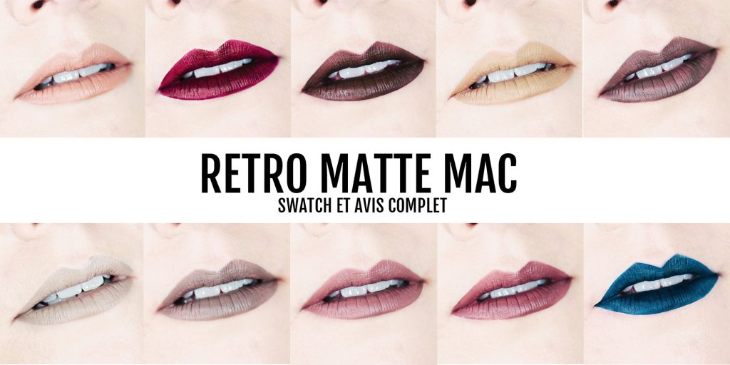 Review : Retro Matte de Mac Cosmetics ! Avis et Swatch !