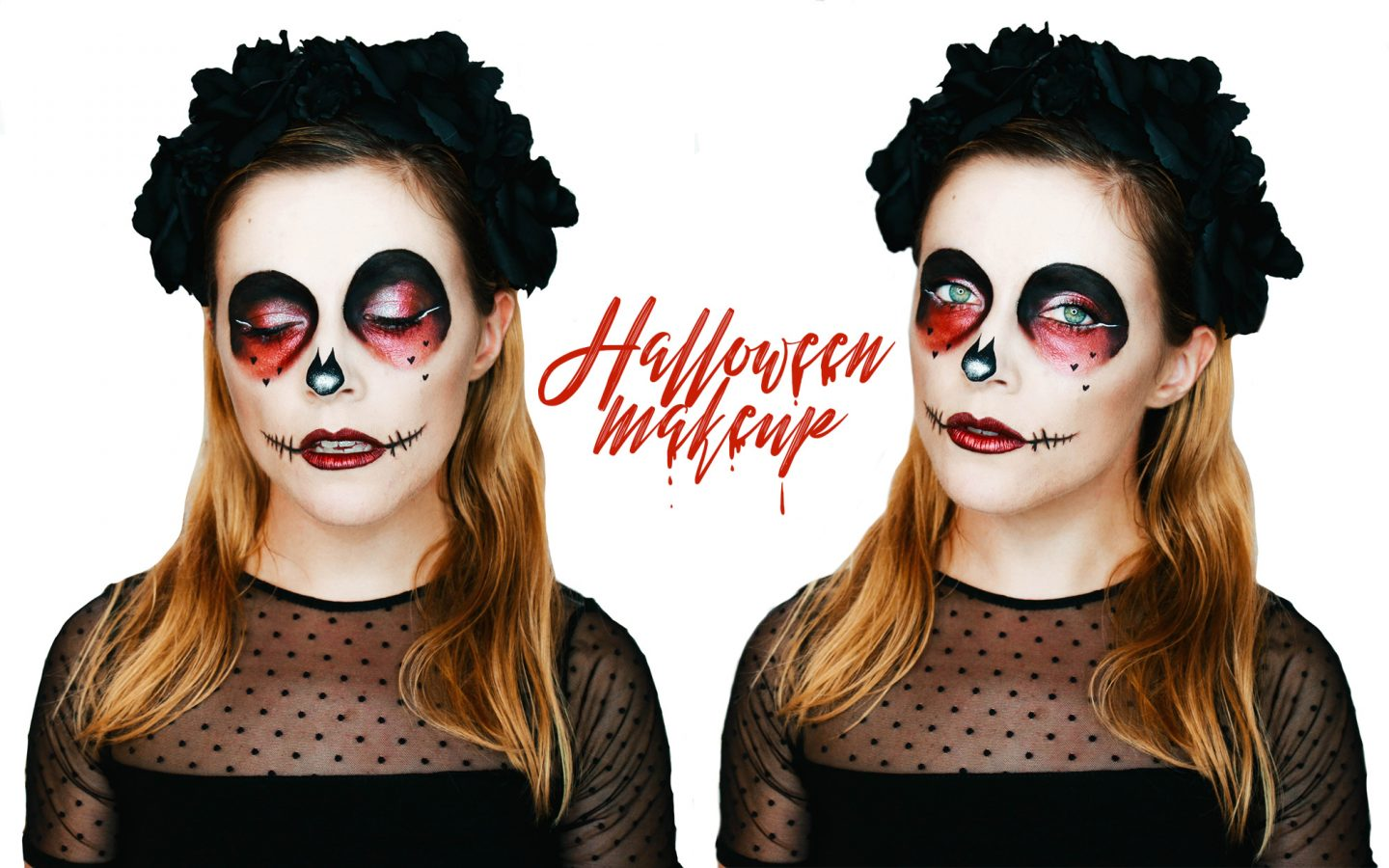 halloween makeup sugar skull