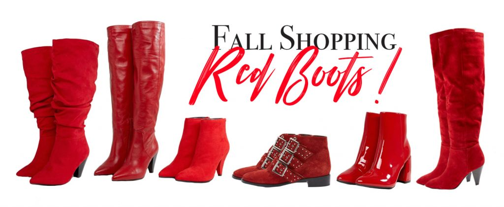 Shopping : Ma sélection de Red Boots !