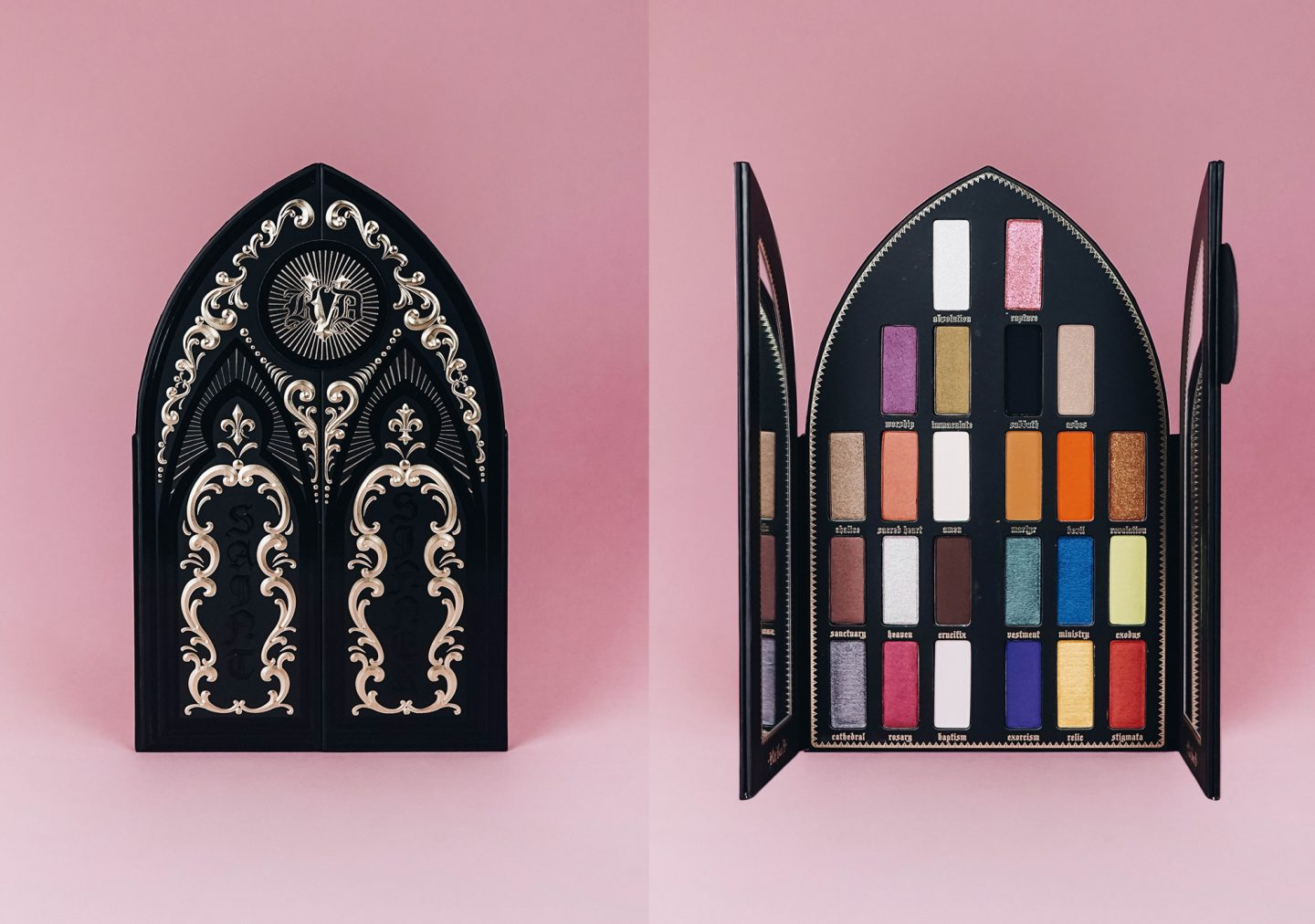 Saint and Sinner palette Kat Von D : Avis et 4 makeup