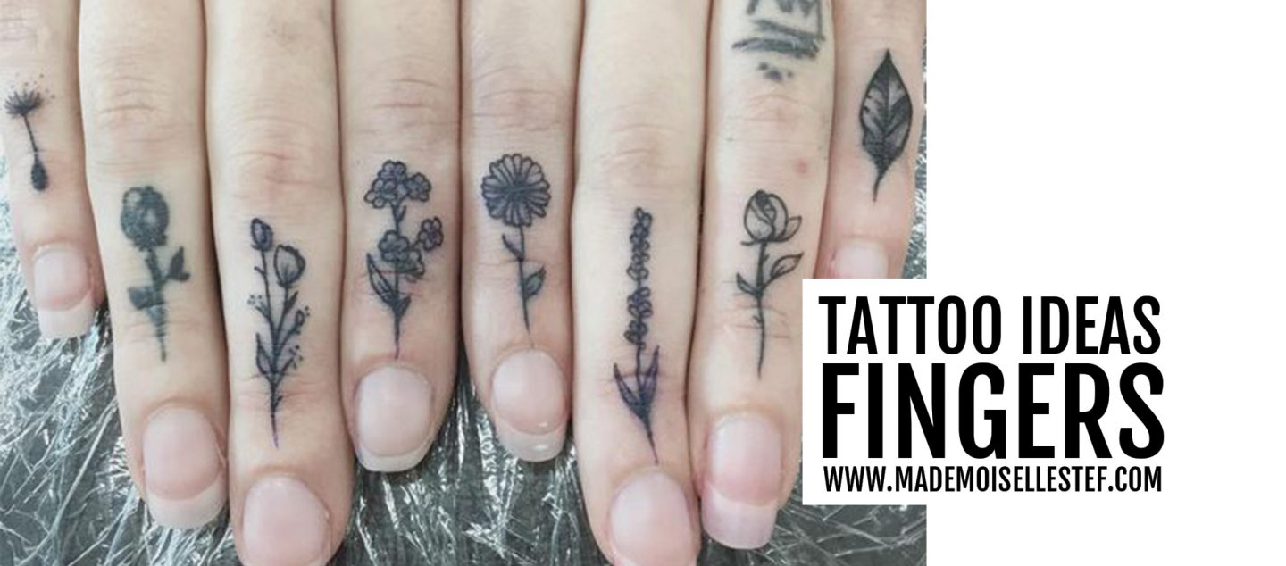 Tattoo Ideas #52 – Fingers Tattoo