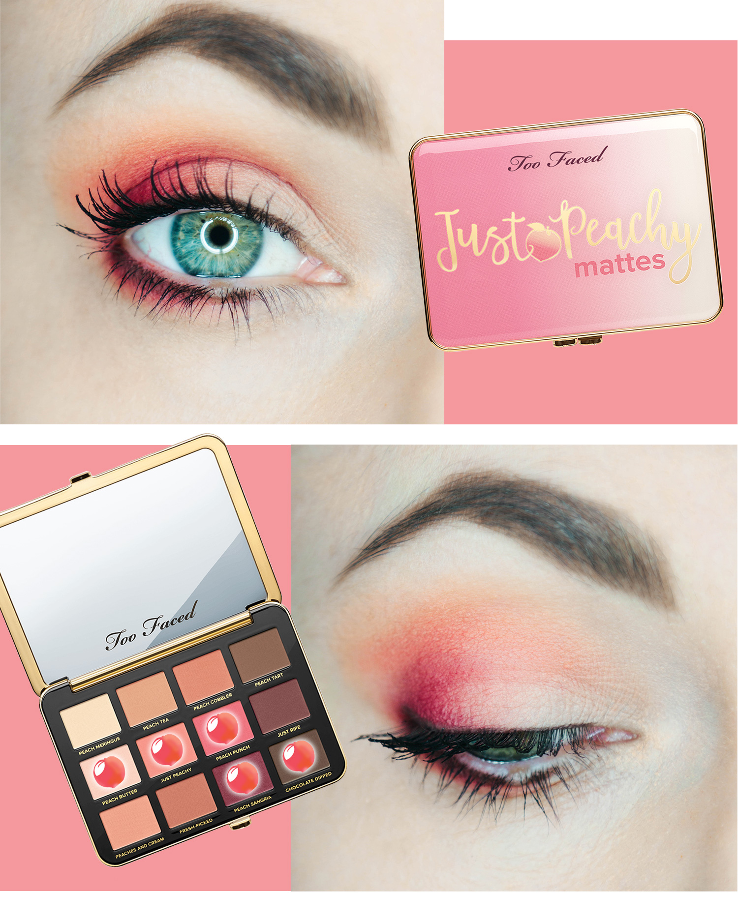 just peachy mattes too faced