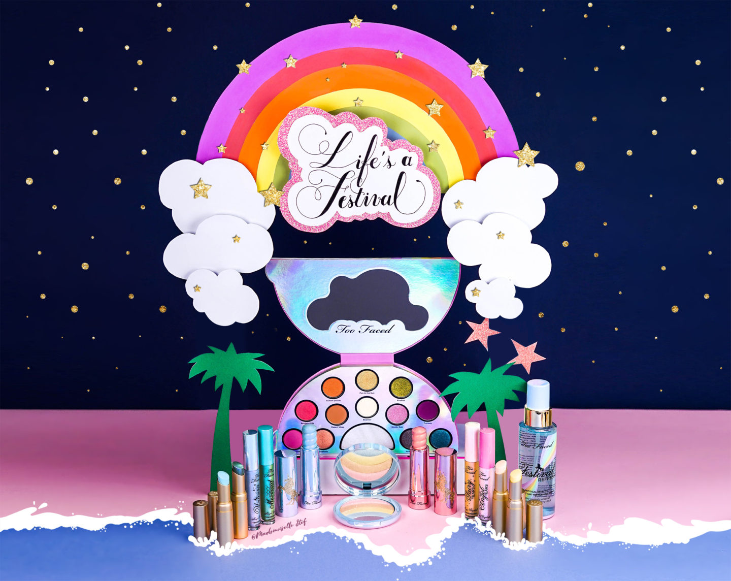 Lifes a Festival collection Too Faced
