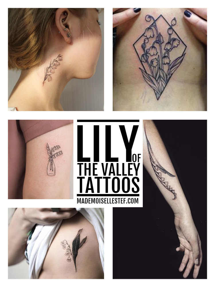 lily of the valley tattoo