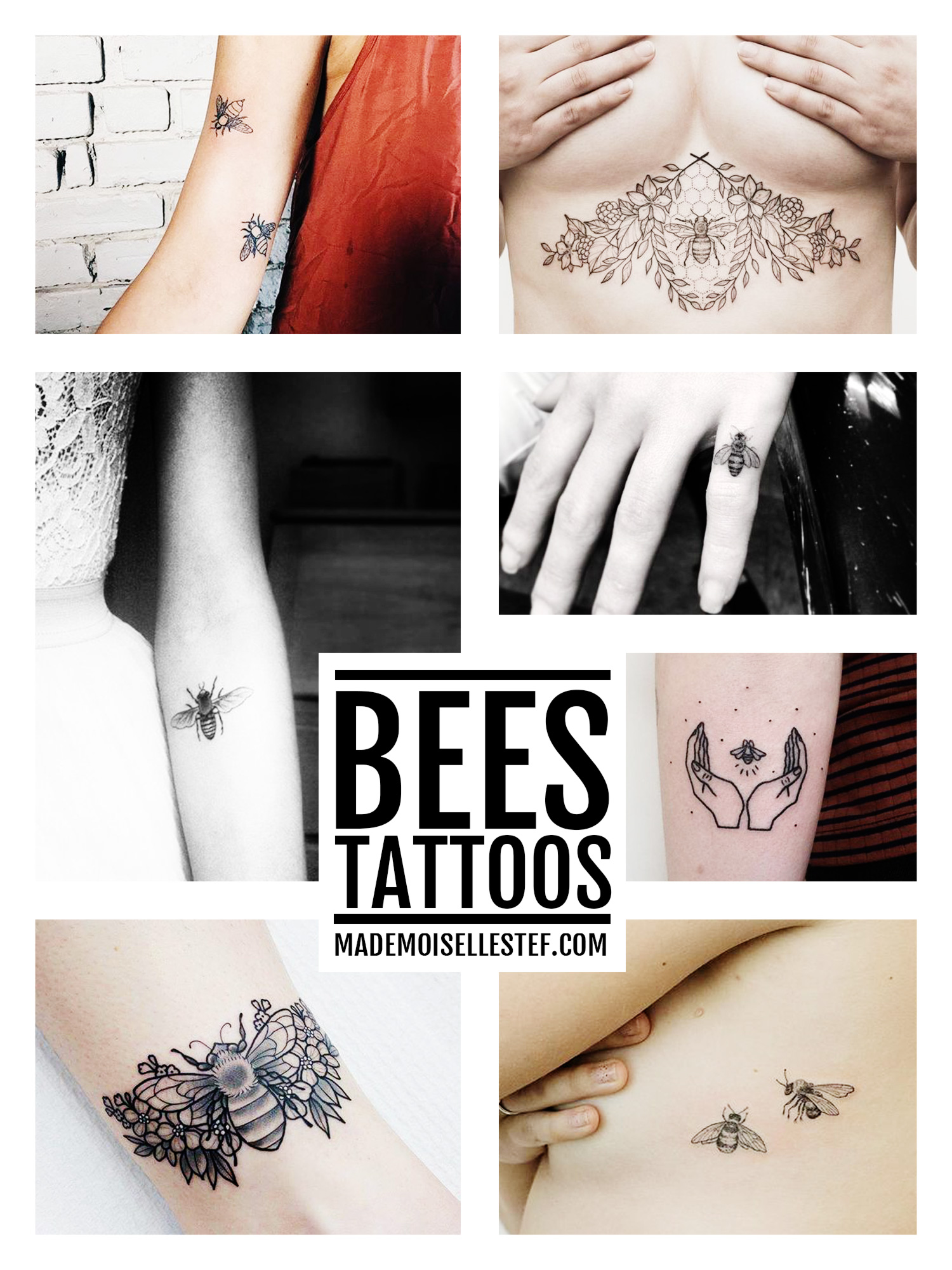 tattoo ideas bees