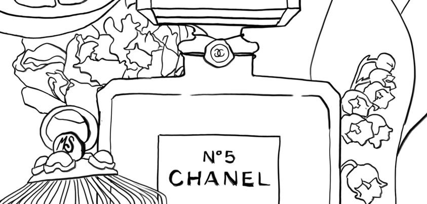 Coloriage : Chanel N°5 I Mademoiselle Stef