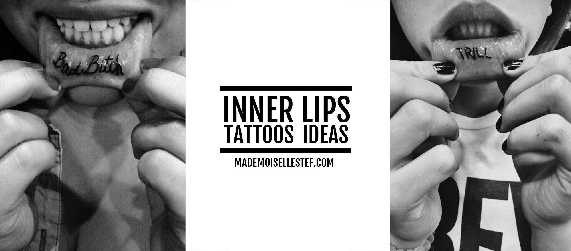 tattoo ideas inner lips