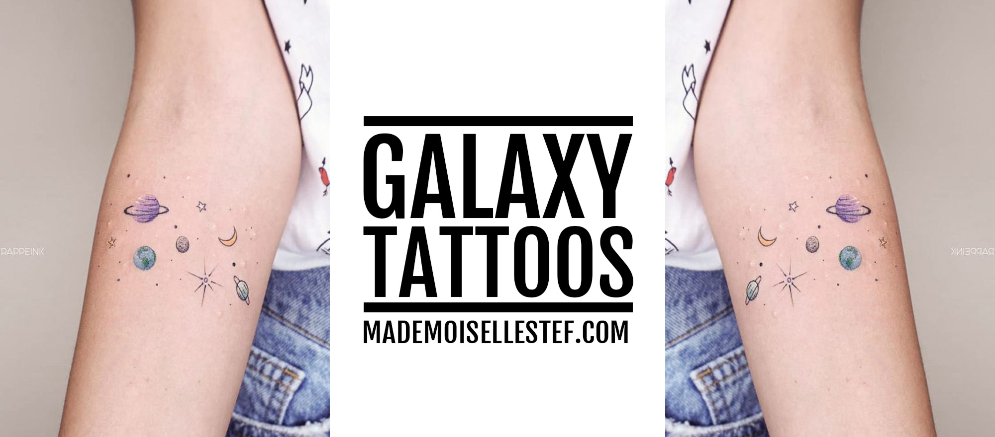 galaxy tattoo idea