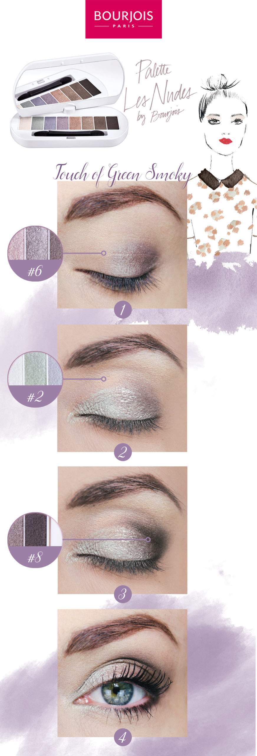Makeup step by step Bourjois Paris